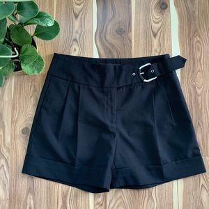 SANDRA ANGELOZZI | high rise dressy shorts